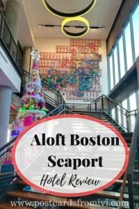 Aloft Boston Seaport Hotel Review