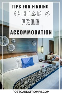 The best tips on how to find cheap and free accommodation