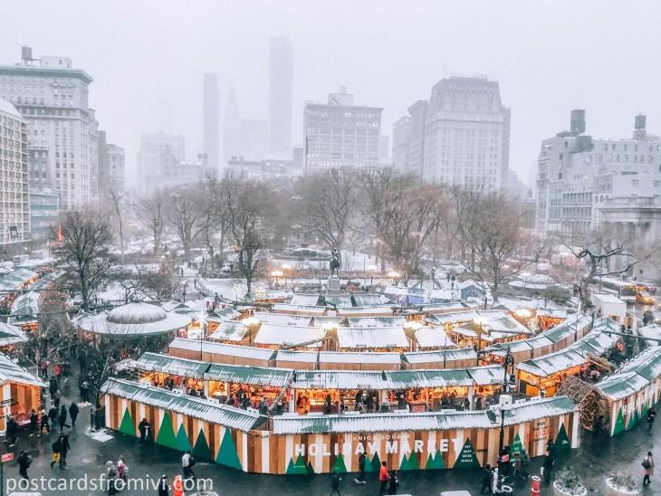 Pasar Navidad en Nueva York: la guía completa