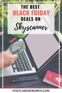 How to find the best Black Friday and Cyber Monday deals on Skyscanner