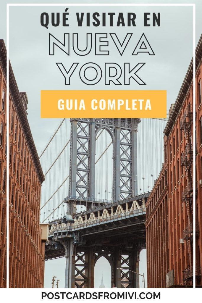 Qué hacer en Nueva York - Lugares imperdibles para visitar