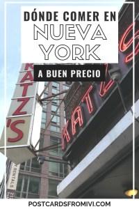 Donde comer en Nueva York - Restaurantes recomendados