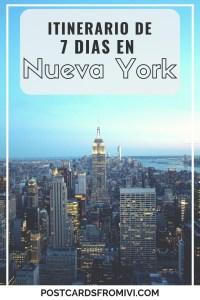 Itinerario - Nueva York en 7 dias