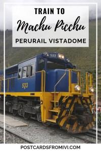 Tren a Machu Picchu con PeruRail Vistadome