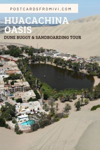 Huacachina sandboarding and buggy tour