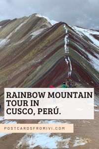 Rainbow Mountain tour from Cusco