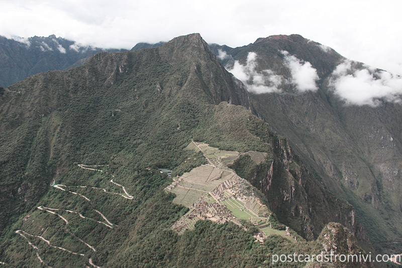How to visit Machu Picchu on your own - The view from Huayna Picchu