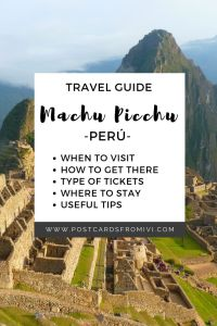How to visit Machu Picchu on your own