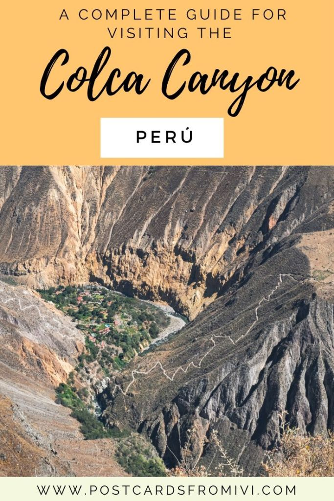 The ultimate guide for hiking the Colca Canyon in Peru