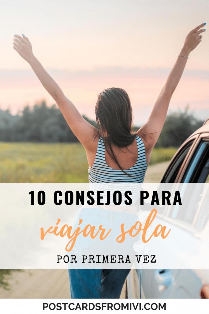 10 consejos para viajar sola por primera vez