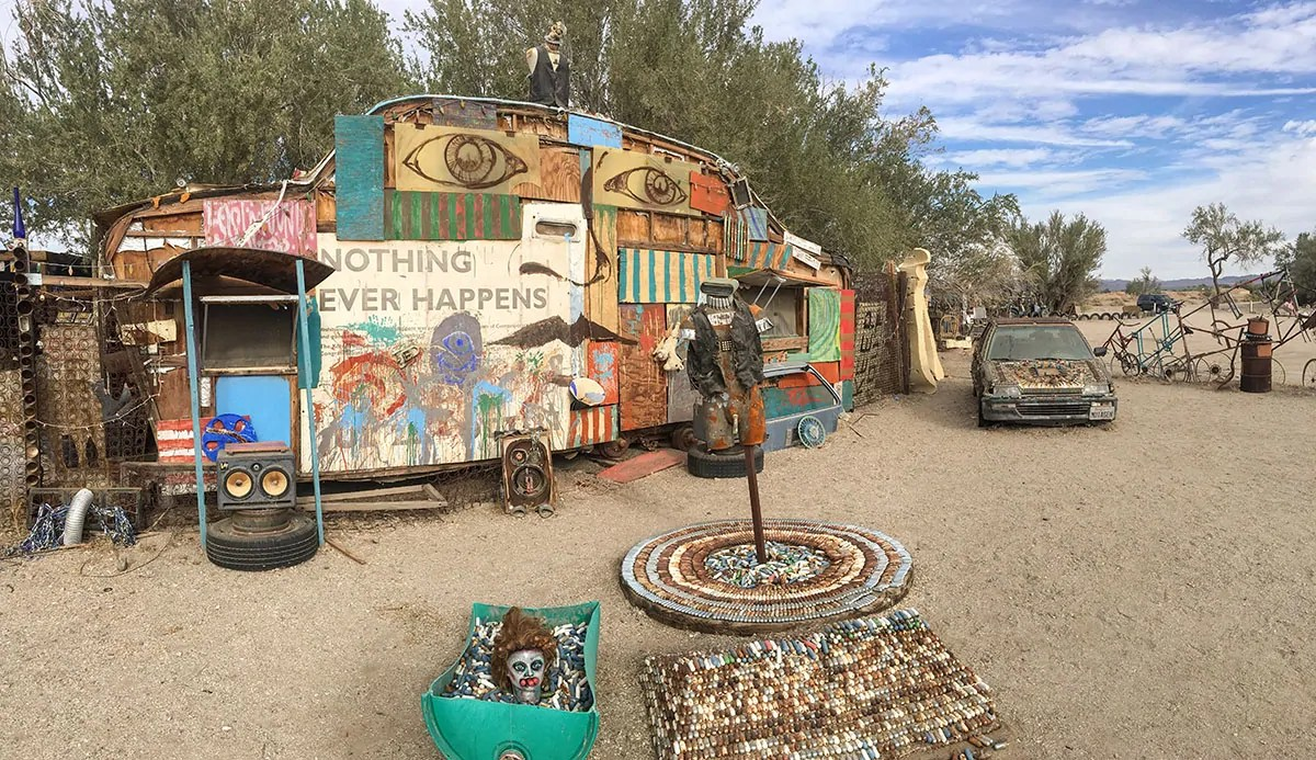 Slab City's East Jesus