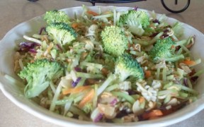2014 10Oct Recipes Broccoli Slaw Feature