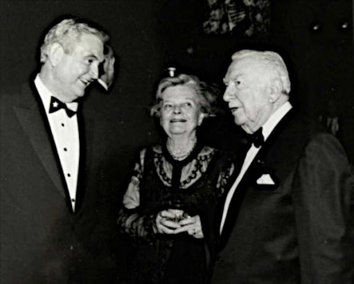Dave with Walter & Betsy Cronkite