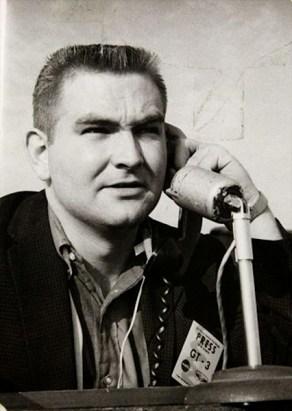 1965: Dave covering NASA Gemini 3 mission