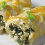 2016 07July Recipes-SpinachEnch Feature