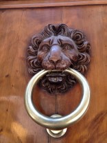 Another irresistible doorknocker