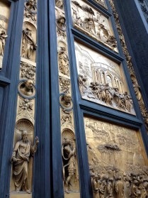 Ghiberti's magnificent doors of paradise...