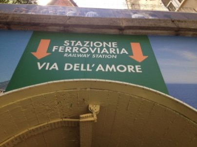 via dell Amore sign