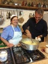 Mamma Giulia cooks from the heart!
