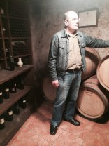 Carlo takes us to the ancient cellars...