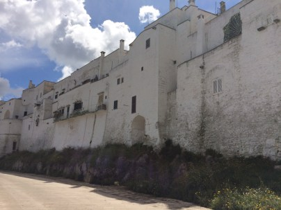Ostuni's whitewashed walls.