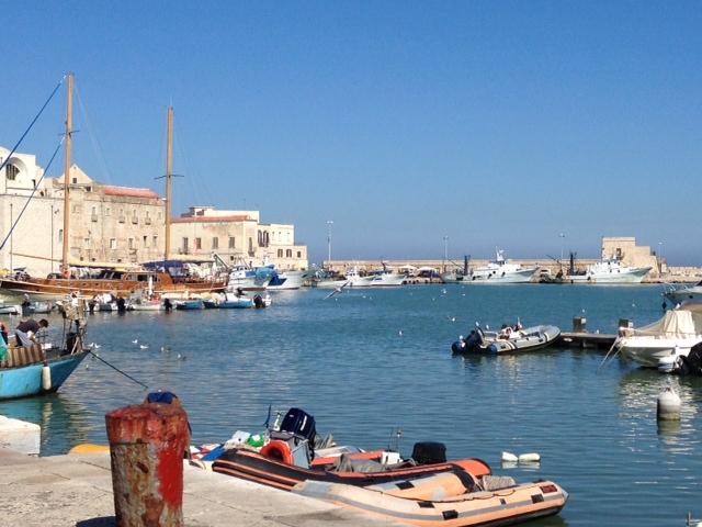 Puglia - Trani marina view