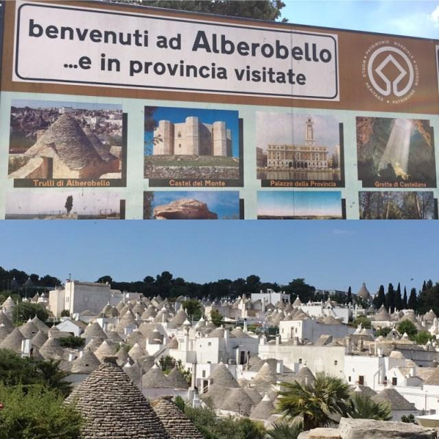 Puglia Alberobello Collage 1