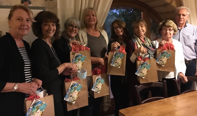 Group w gift bags