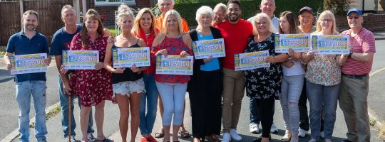 Uk Postcode Results Draw Lottery Peoples