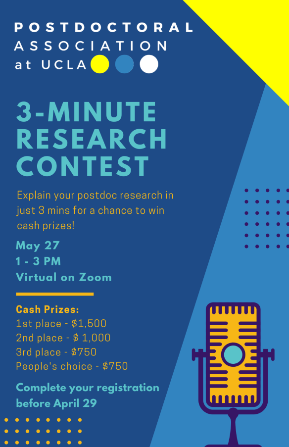 3-minute research contest