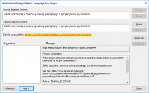 LanguageTool Error Polish 8