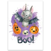 Ansichtkaart Boo van LittleLeftyLou
