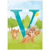 Ansichtkaart Vos van Revista (voorkant)
