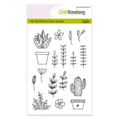 Clear Stamps planten van CraftEmotions