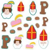 Die cuts Sinterklaas van Acrealife