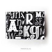 Handlettering Blok A6 van Paperfuel