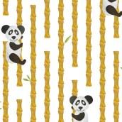 Inpakpapier Panda Bamboe van Nouk-san