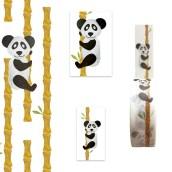 Inpakset Panda Bamboe van Nouk-san