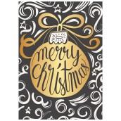 Kerstkaart Christmas van LabelE
