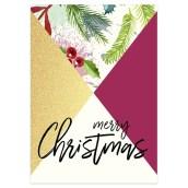 Kerstkaart Merry Christmas van LabelE