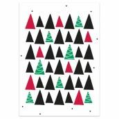 Kerstkaart Trees van LabelE