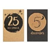 Minikaart December van MiekinVorm