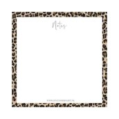 Notitieblok Leopard van Stationery & Gift