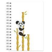 Planner A5 Ringband Panda voorkant