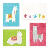 Postkaartenset Alpaca & Cactus van Nouk-san