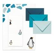 Postpapier Pinguïn van Nouk-san
