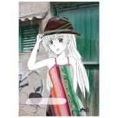 Schrift Manga Spanje van Joy's (voorkant)