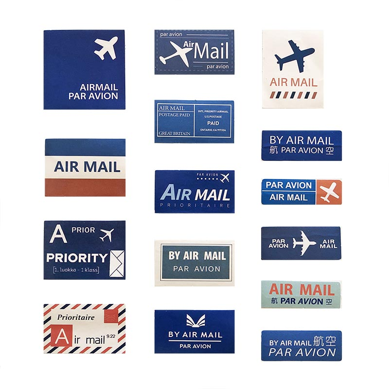 Stickers Airmail