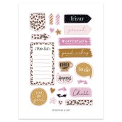 Stickervel Planner van Stationery & Gift