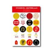 Stickervel Sinterklaas van Studio Ins & Outs